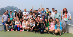 The tour to Zhejiang